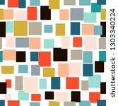seamless geometric pattern | Shutterstock .eps vector #1303340224