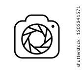 photography  camera icon logo... | Shutterstock .eps vector #1303341571