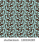 ornamental seamless pattern. | Shutterstock . vector #130334285