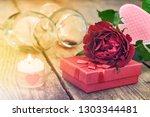 Valentine's Day Concept. Red...