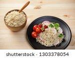 quinoa salad with vegetables ...