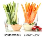 Assorted Raw Vegetables Sticks...