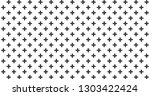 abstract black crosses minimal... | Shutterstock .eps vector #1303422424