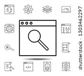 browser  find  search icon....