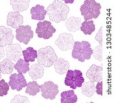 light pink vector seamless...   Shutterstock .eps vector #1303485244