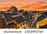 hoi an  vietnam  high view of... | Shutterstock . vector #1303493764