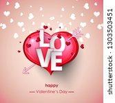vector illustration.valentine's ...   Shutterstock .eps vector #1303503451