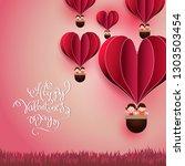 vector illustration.valentine's ...   Shutterstock .eps vector #1303503454