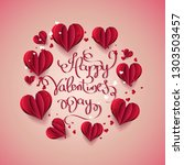 vector illustration.valentine's ...   Shutterstock .eps vector #1303503457