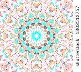 colorful mosaic pattern for... | Shutterstock . vector #1303512757