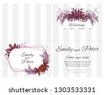 vector template for invitation... | Shutterstock .eps vector #1303533331