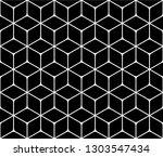 seamless pattern of rhombuses....   Shutterstock .eps vector #1303547434