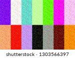 raster copy set of seamless... | Shutterstock . vector #1303566397