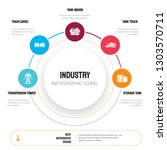 abstract infographics of... | Shutterstock .eps vector #1303570711