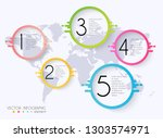 vector info graphics for your... | Shutterstock .eps vector #1303574971