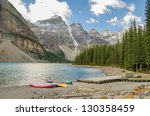 Pristine Moraine Lake On A...