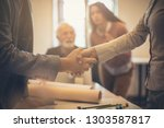 who is that  business people in ...   Shutterstock . vector #1303587817