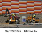 Dumper Trucks And Excavator...