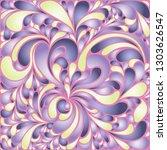 silk texture fluid shapes ... | Shutterstock .eps vector #1303626547