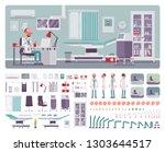male doctor in general... | Shutterstock .eps vector #1303644517