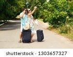 travel  vacation  technology ...   Shutterstock . vector #1303657327