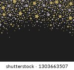 card for your design with stars ... | Shutterstock . vector #1303663507