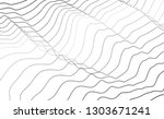 abstract diagonal curve line... | Shutterstock .eps vector #1303671241