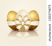 Three Easter Eggs With...