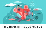 vitamins vector illustration.... | Shutterstock .eps vector #1303757521