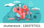 vitamins vector illustration.... | Shutterstock .eps vector #1303757521
