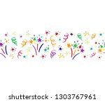 horizontal endless colored... | Shutterstock .eps vector #1303767961