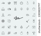 branch icon. autumn icons... | Shutterstock . vector #1303820797