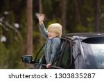 cute little boy ready for a... | Shutterstock . vector #1303835287