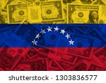 national flag of venezuela | Shutterstock . vector #1303836577