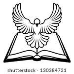 Christian Bible Dove Concept ...