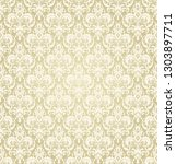 seamless victorian pattern....   Shutterstock .eps vector #1303897711