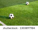 children's football training...   Shutterstock . vector #1303897984