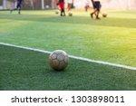 children's football training...   Shutterstock . vector #1303898011