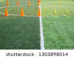 children's football training...   Shutterstock . vector #1303898014