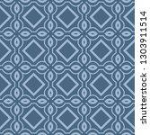 seamless line geometric pattern.... | Shutterstock .eps vector #1303911514