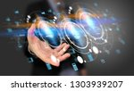 application icons interface on... | Shutterstock . vector #1303939207