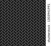 subway tile seamless pattern  ... | Shutterstock .eps vector #1303941991