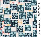 seamless pattern made up of...   Shutterstock .eps vector #1303950091
