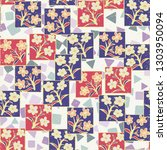 seamless pattern made up of...   Shutterstock .eps vector #1303950094