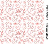 medical icons vectors seamless... | Shutterstock .eps vector #130396361