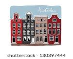 amsterdam | Shutterstock .eps vector #130397444