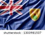 waving detailed national...   Shutterstock . vector #1303981537