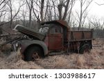 abandoned and neglected vehicle ...   Shutterstock . vector #1303988617