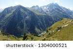day beautiful landscape with... | Shutterstock . vector #1304000521