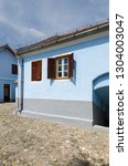 Small photo of Lancram/Romania - August 08 2014: The memorial house of the Romanian philosopher Lucian Blaga in the village of Lancram. Lucian Blaga was a a philosopher, writer a university professor and a diplomat.